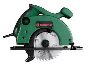 3D model circular saw Hammer
