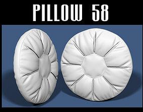 Pillow 58 3D model
