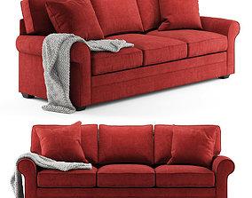 Cindy Crawford Home Bellingham Cardinal Sofa 3D model