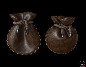3D model Leather Coin Pouch