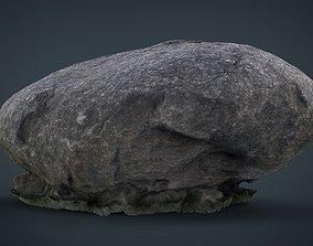 3d Rock 3D model realtime