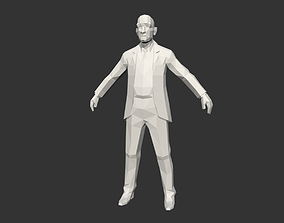 Low Poly Men 3D model