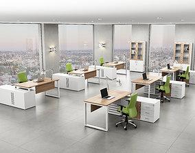 3D model office interior ed188 b06