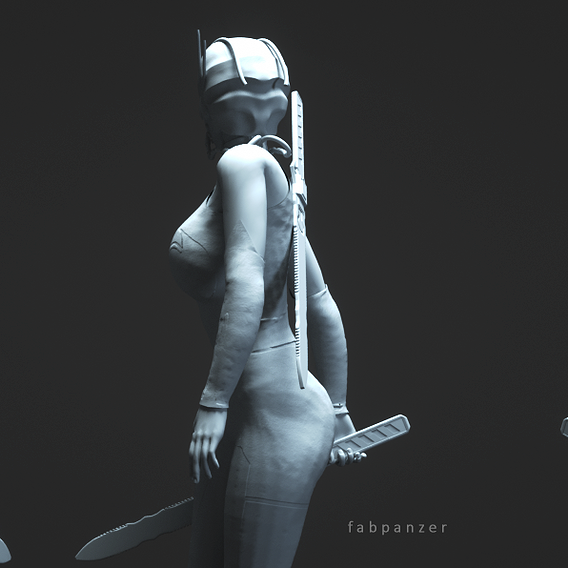 Female Concept Character