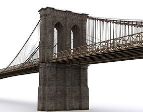 The Brooklyn Bridge 3D model
