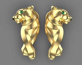earrings pouceta 3D printable model