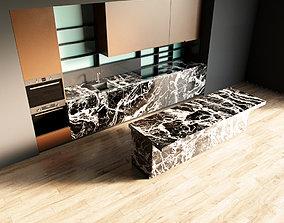 3D model 84-Kitchen12 matte 7