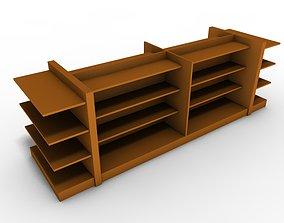 Shop shelf 3D model