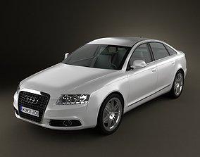 3D model Audi A6 C6 sedan 2011