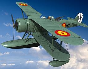 IMAM RO43 Spanish Air Force 3D