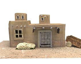 Old arabic house arabian 3D model