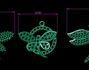 DRAGONFLY NECKLACES 3D print model wing