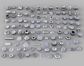 bolts and knobs-part-1 - 106 pieces 3D