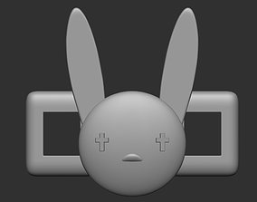 3dprint 3D printable model Bad Bunny Bunny lace buckle