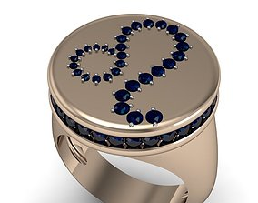 Leo ring model 002