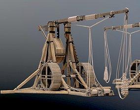 MEDIEVAL Trebuchet 3D