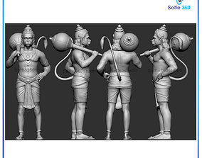 Hanuman Idol 3D Printable model