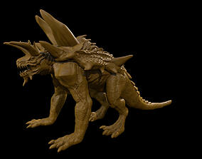 3D print model Tarrasque