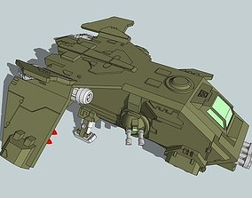 3D printable model 6mm FireTurkey Gunship