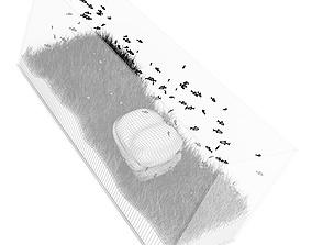 3D Rectangular Aquarium