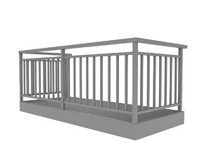 Balcony 3D architecture