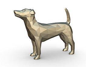 3D printable model Jack russell terrier figure