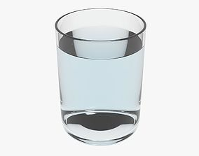 3D model Glass With Water