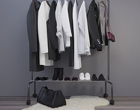 set of clothes 3D