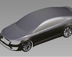 2019 Lincoln MK-Z 3D Scan Data 3D model 3D print model