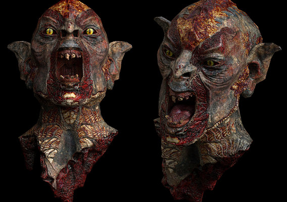 Head (ZBrush + Substance Painter)