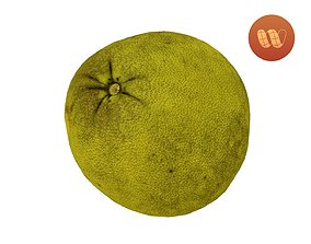 3D asset Pomelo Citrus maxima - Real-Time Scanned