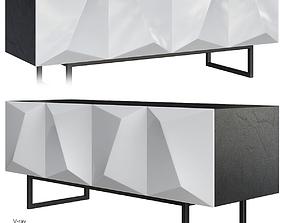 Sales Online Prisma Sideboard White 3D asset