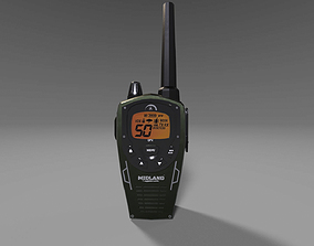 3D asset walky talky game ready