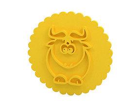 Stamp Cookie stamp 3D print model