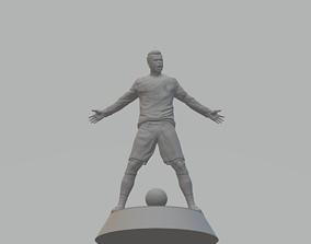 Cristiano Ronaldo 3D Model figurines