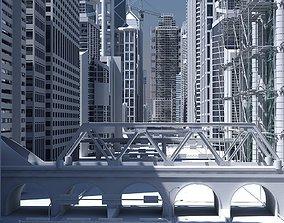 3D High Definition City