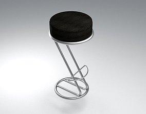 3D model Bar Stool ZETA