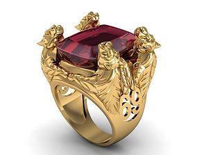 ring four tiger 3D printable model