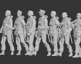 3D printable model schmeiser German soldiers