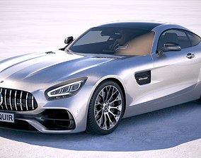 Mercedes AMG GT 2020 3D model