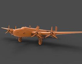 Handley Page Halifax 3D print model