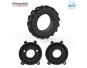 Tire Mold 3D print model