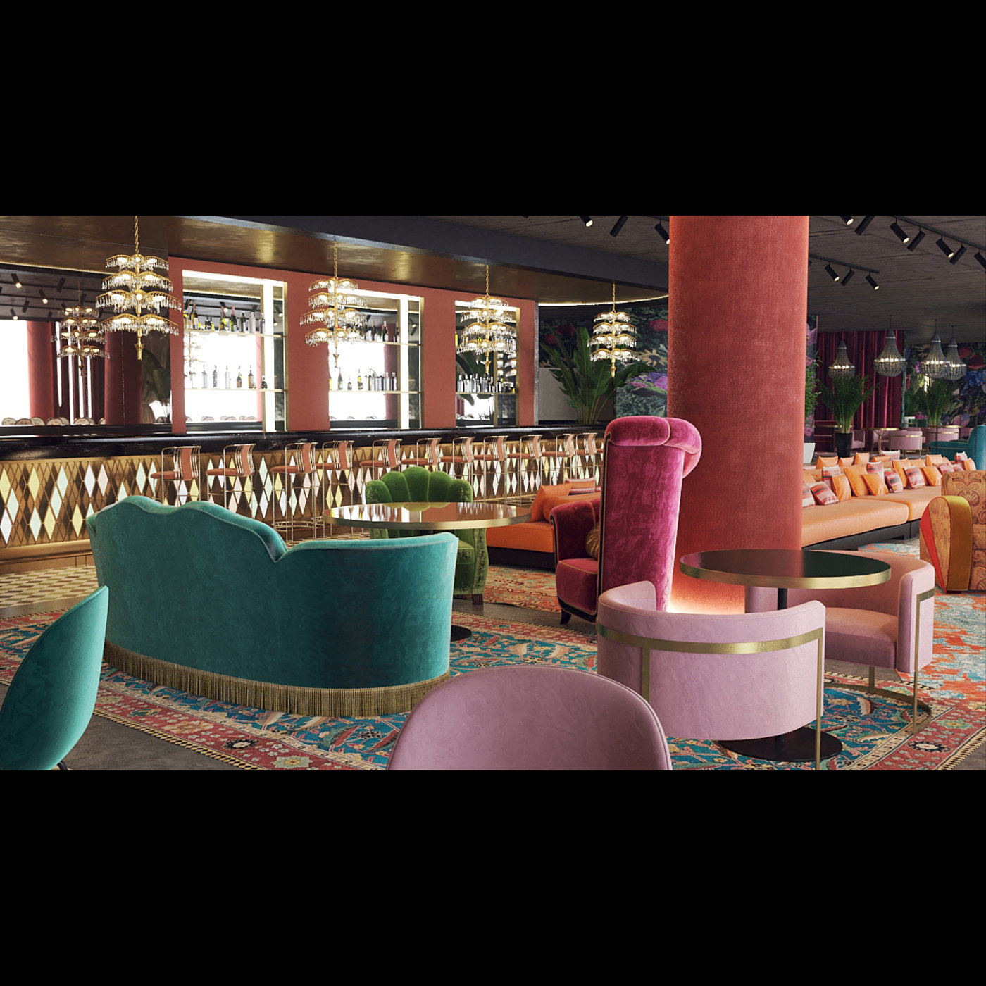 Restaurant interior - Event Hall