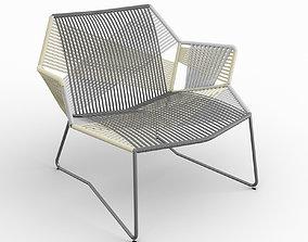 3D Moroso Tropicalia Armchair with arms 461