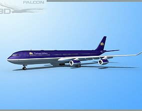 Falcon3D A340-600 Vietnam Airlines rigged