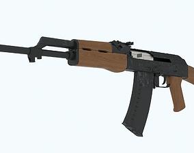 Ak-47 3D model game-ready army