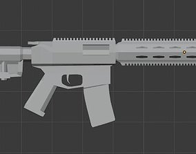 3D model Free Custom AR-15