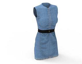 Jeans Dress wear 3D