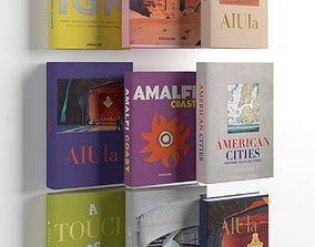cover 3D model Books 01
