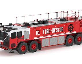 3D Fire Rescue Truck 01